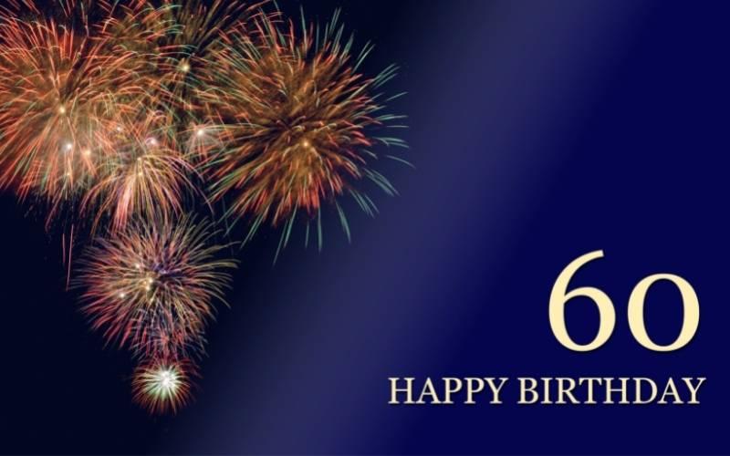 Happy 60th Birthday Images - 7
