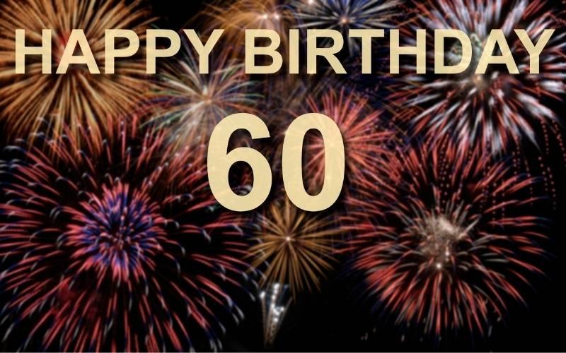 Happy 60th Birthday Images - 8
