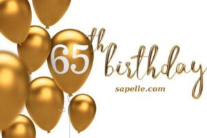 Happy 65Th Birthday Images Free Download 2021