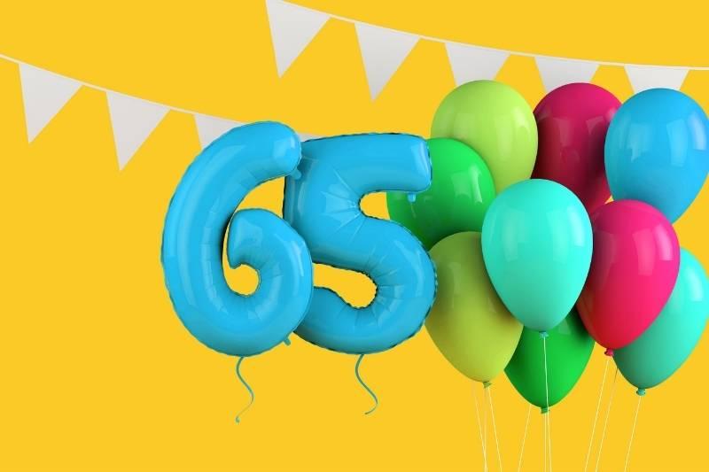 Happy 65th Birthday Images - 10