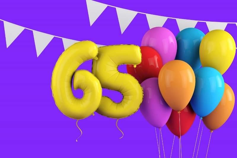 Happy 65th Birthday Images - 11
