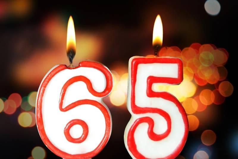 Happy 65th Birthday Images - 2