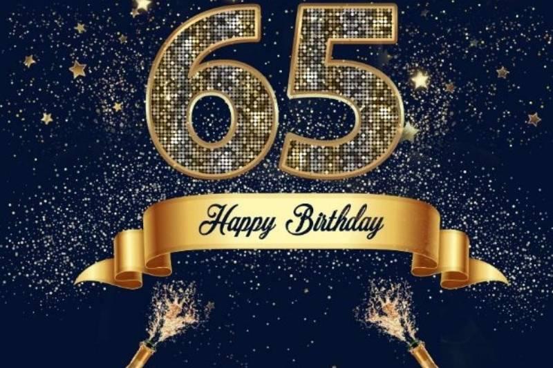 Happy 65th Birthday Wishes