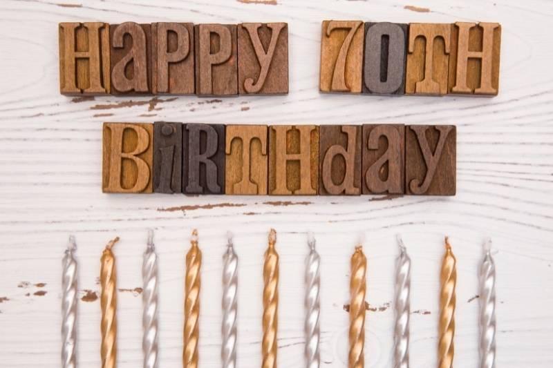 Happy 70Th Birthday Images - 14