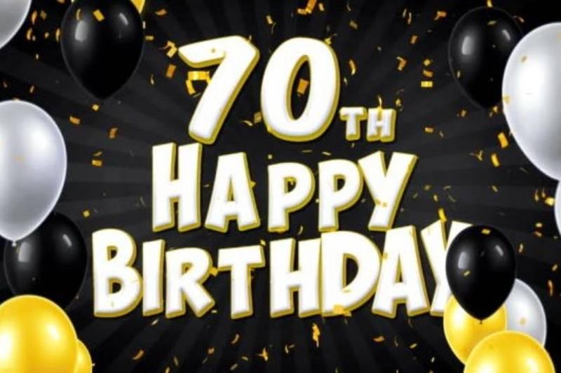 Happy 70th Birthday Wishes