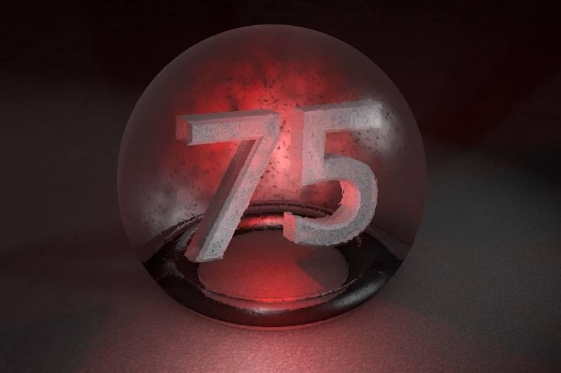 Happy 75 Birthday Images - 10
