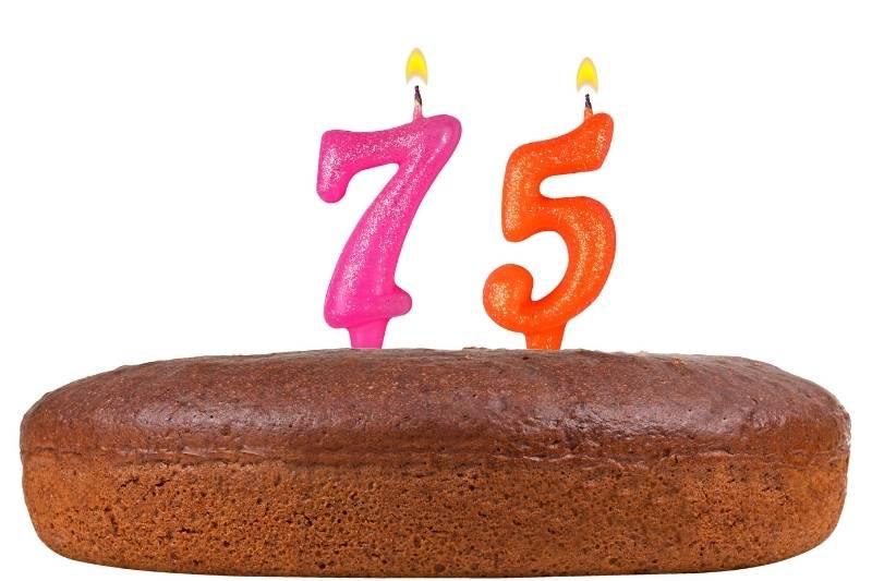 Happy 75 Birthday Images - 16
