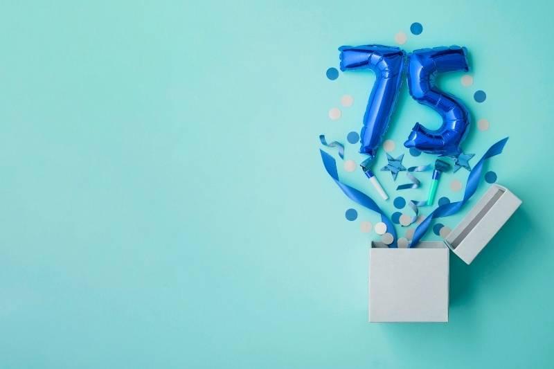 Happy 75 Birthday Images - 19