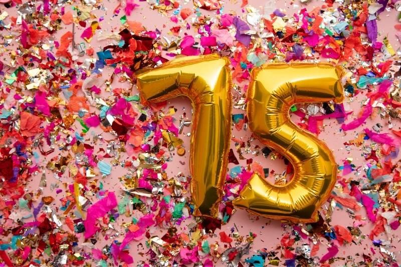 Happy 75 Birthday Images - 20