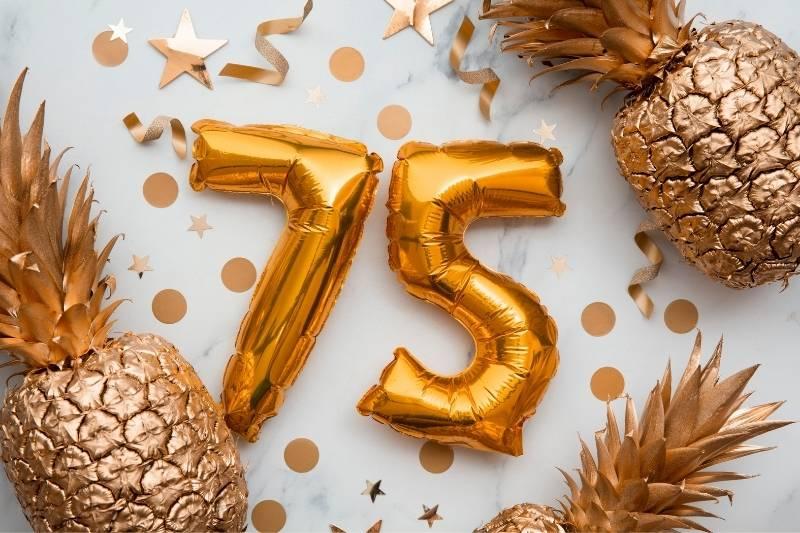 Happy 75 Birthday Images - 21
