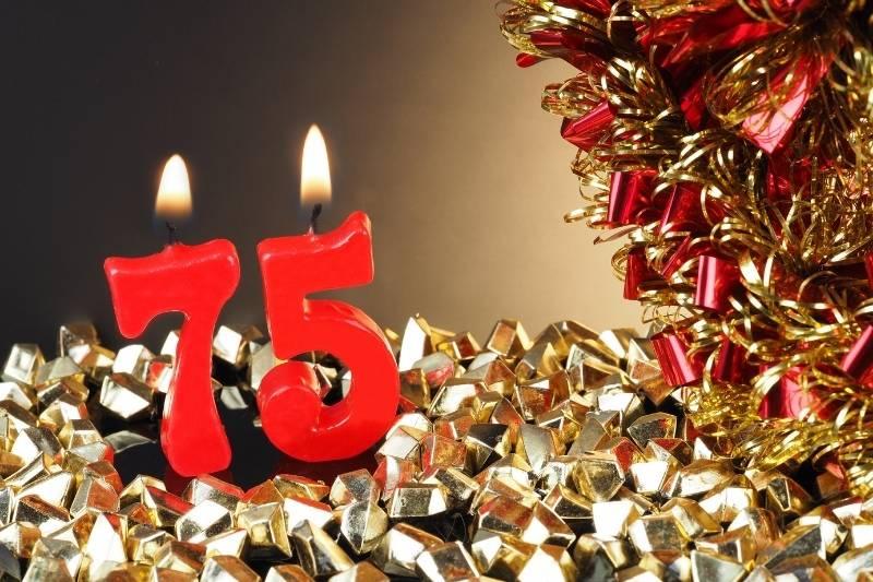 Happy 75 Birthday Images - 3