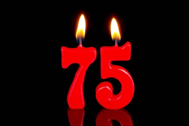 Happy 75 Birthday Images - 5