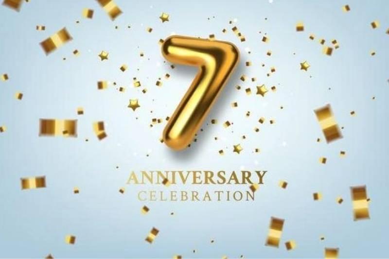 Happy 7th Anniversary Quotes