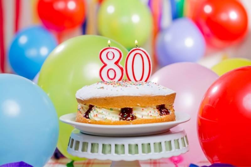 Happy 80th Birthday Images - 12