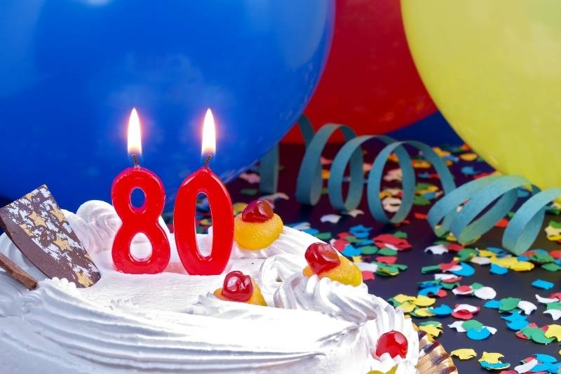 Happy 80th Birthday Images - 13