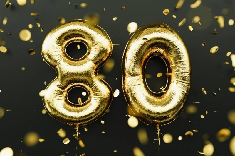 Happy 80th Birthday Images - 15