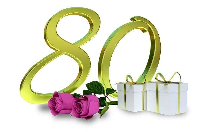 Happy 80th Birthday Images - 44