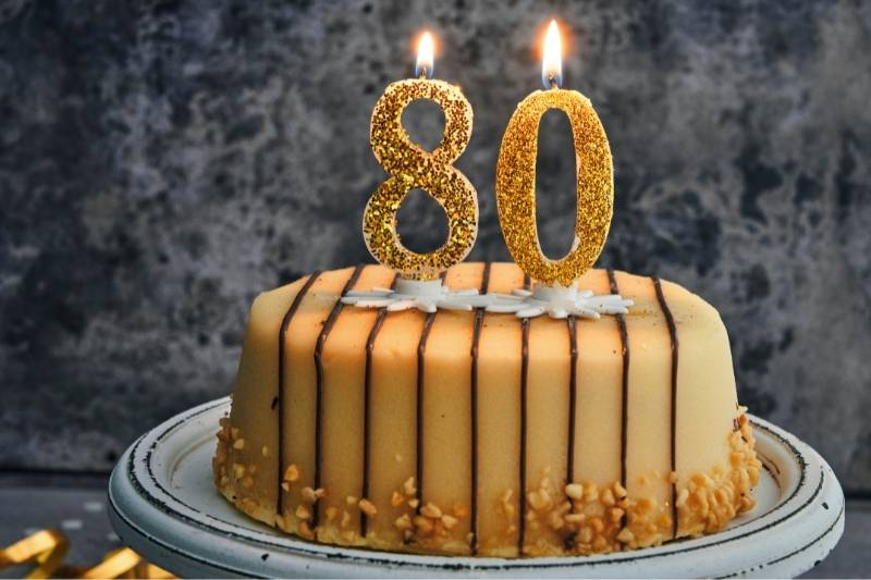 Happy 80th Birthday Images - 6