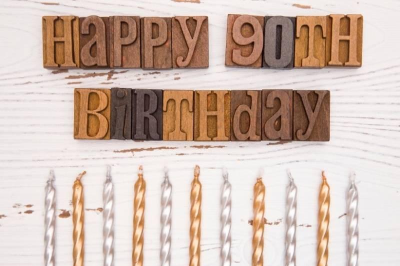 Happy 90th Birthday Wishes