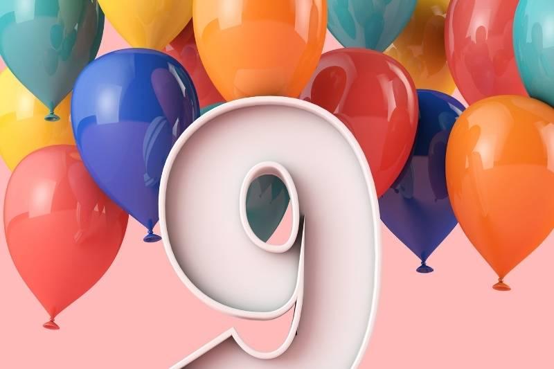 Happy 9th Birthday Boy