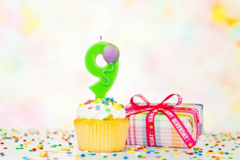 Happy 9th Birthday Girl