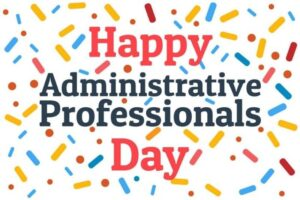 Happy Admin Day Images Free Download 2021