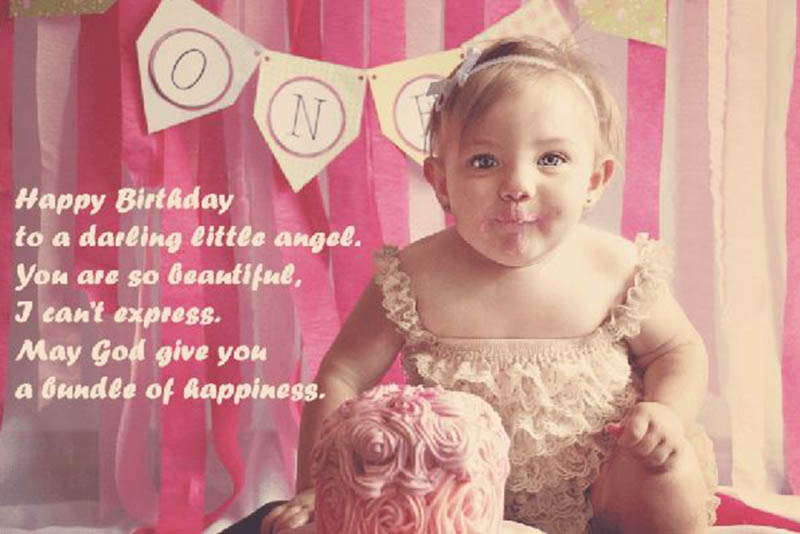 Happy First Bday Wishes - 1