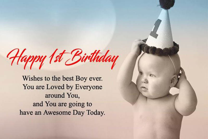 Happy First Bday Wishes - 12