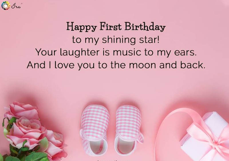 Happy First Bday Wishes - 15