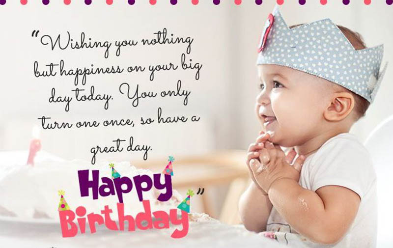 Happy First Bday Wishes - 21