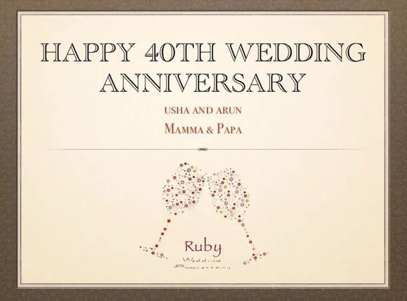 happy 40th Wedding Anniversary Images - 33