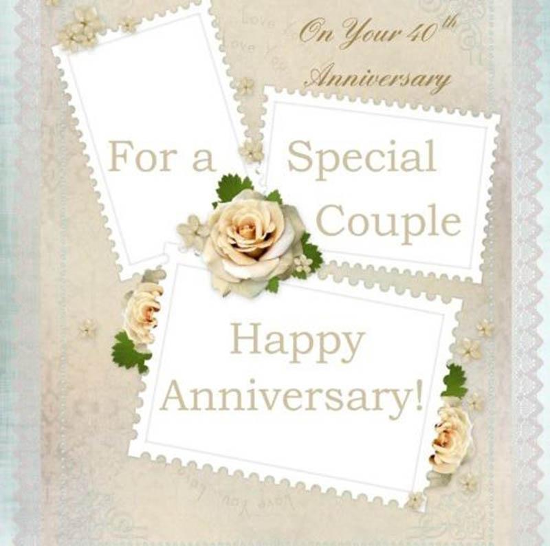 happy 40th Wedding Anniversary Images - 36