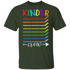 First Day Of Kindergarten Gifts, Kinder Crew 1st Day Of School T-shirt 7 of Sapelle
