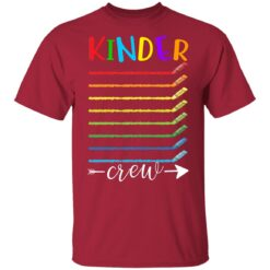 First Day Of Kindergarten Gifts, Kinder Crew 1st Day Of School T-shirt 11 of Sapelle