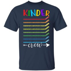 First Day Of Kindergarten Gifts, Kinder Crew 1st Day Of School T-shirt 13 of Sapelle