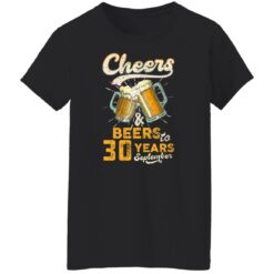 September 1991 30 Years Old Cheers Beer To My 30th Birthday T-Shirt 41 of Sapelle