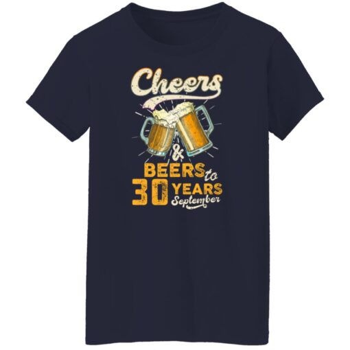 September 1991 30 Years Old Cheers Beer To My 30th Birthday T-Shirt 16 of Sapelle