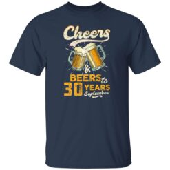 September 1991 30 Years Old Cheers Beer To My 30th Birthday T-Shirt 23 of Sapelle