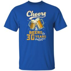 September 1991 30 Years Old Cheers Beer To My 30th Birthday T-Shirt 27 of Sapelle