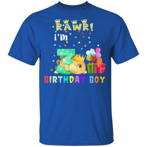 Kids 3 Year Old 2018 Birthday Boys Dinosaur 3rd Birthday T-shirt 5 of Sapelle
