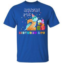 Kids 2 Year Old 2019 Birthday Boys Dinosaur 2nd Birthday T-shirt 12 of Sapelle