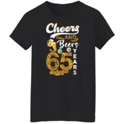 September 1956 65 Years Old Cheers Beer To My 65th Birthday T-Shirt 34 of Sapelle