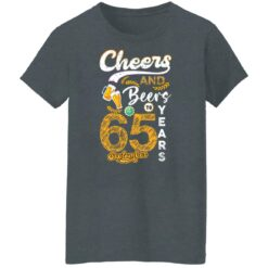 September 1956 65 Years Old Cheers Beer To My 65th Birthday T-Shirt 36 of Sapelle
