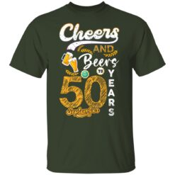 September 1971 50 Years Old Cheers Beer To My 50th Birthday T-Shirt 23 of Sapelle
