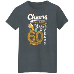 September 1961 60 Years Old Cheers Beer To My 60th Birthday T-Shirt 36 of Sapelle
