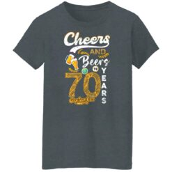 September 1951 70 Years Old Cheers Beer To My 70th Birthday T-Shirt 36 of Sapelle