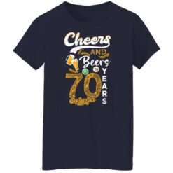 September 1951 70 Years Old Cheers Beer To My 70th Birthday T-Shirt 38 of Sapelle