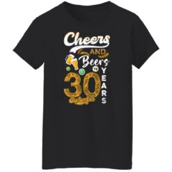 September 1991 30 Years Old Cheers Beer To My 30th Birthday T-Shirt 19 of Sapelle