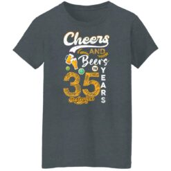September 1986 35 Years Old Cheers Beer To My 35th Birthday T-Shirt 21 of Sapelle