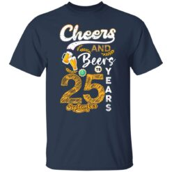 September 1996 25 Years Old Cheers Beer To My 25th Birthday T-Shirt 12 of Sapelle